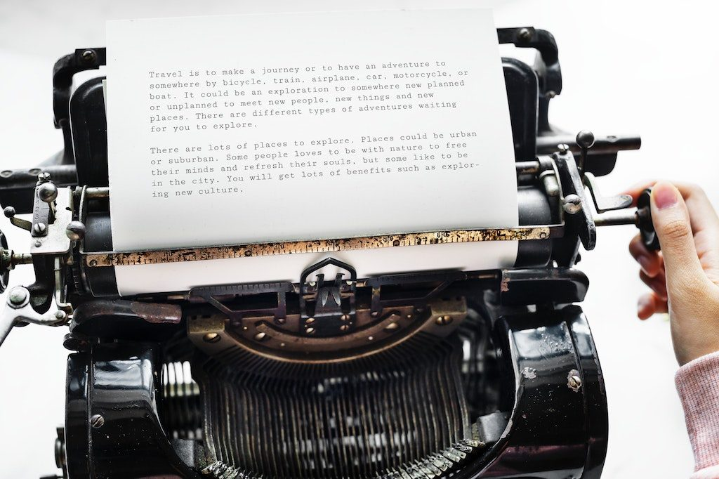 Storytelling-Typewriter