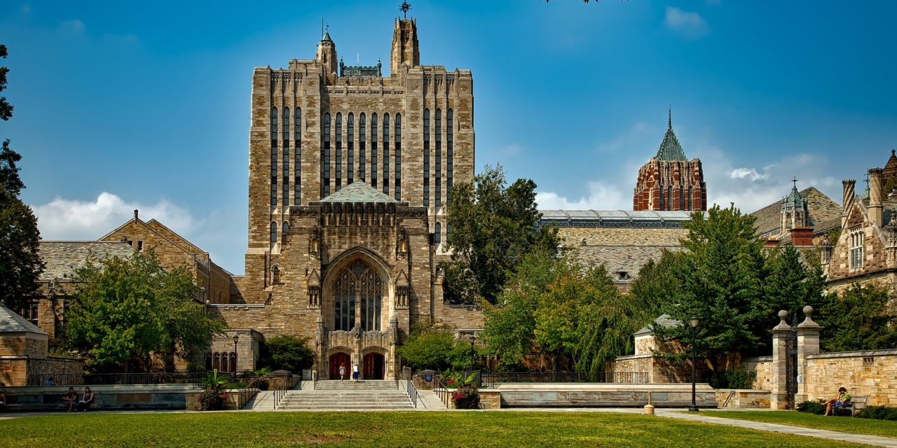 "Yale Leads the Way in Academic ""Wokeness"""